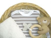 Cat and Fiddle Unisex Gift Baby Basket